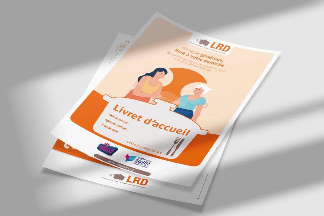 Support de communication <br><br> LRD SERVICES